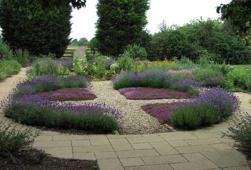 community garden design planting
