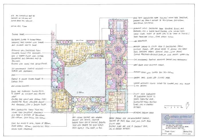 Garden Design Prices Uk Linette Applegate Garden Design